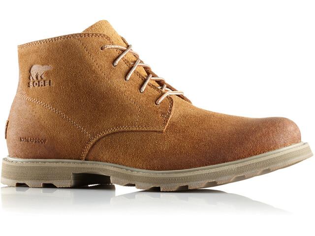 Sorel Madson Chukka Waterproof Shoes Men Camel Brown/Pebble